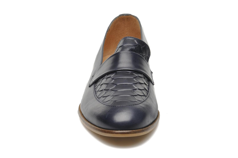 Mocassins Georgia Rose Tarmack Bleu vue portées chaussures