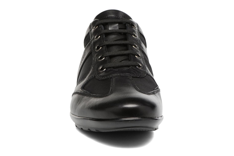 Baskets Geox U SYMBOL C U32A5C Noir vue portées chaussures