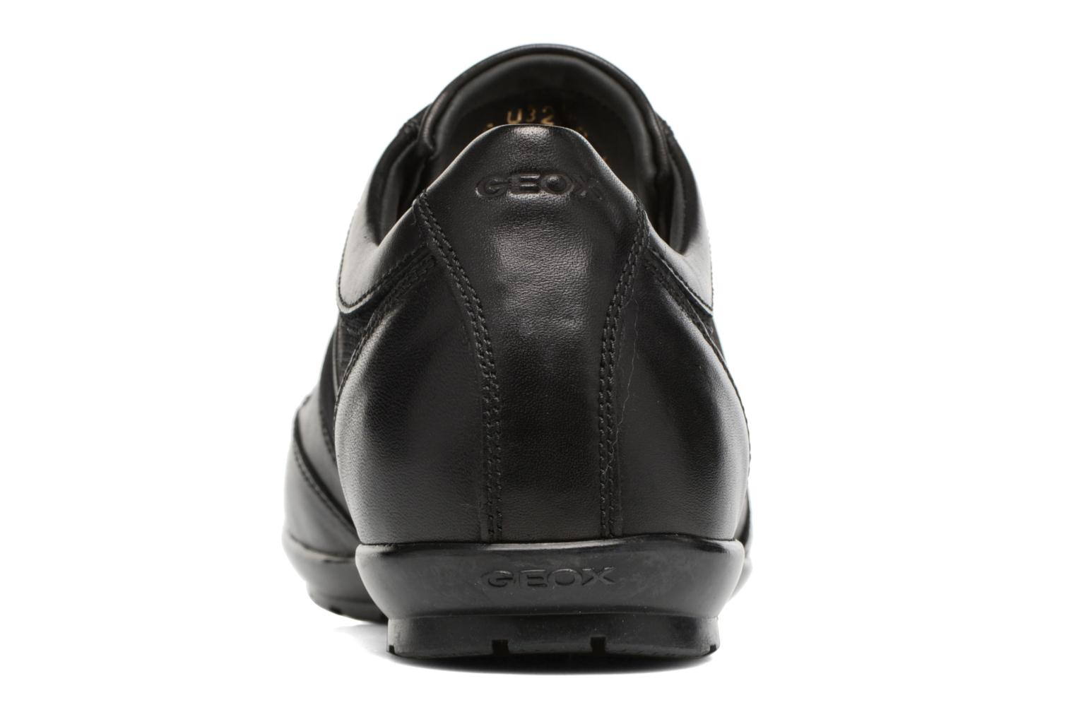 Trainers Geox U SYMBOL C U32A5C Black view from the right