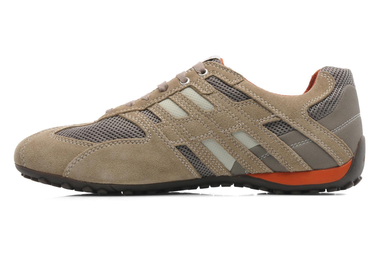 Sneaker Geox U SNAKE K U4207K beige ansicht von vorne