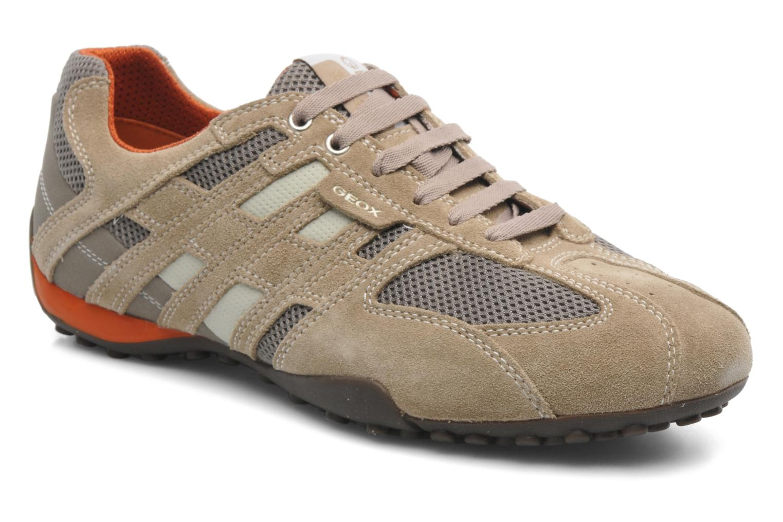Sneaker Geox U SNAKE K U4207K beige detaillierte ansicht/modell