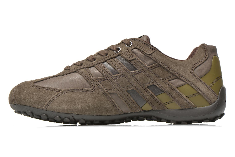 Sneakers Geox U SNAKE K U4207K Grijs voorkant