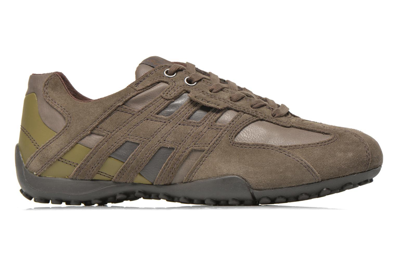 Sneakers Geox U SNAKE K U4207K Grijs achterkant