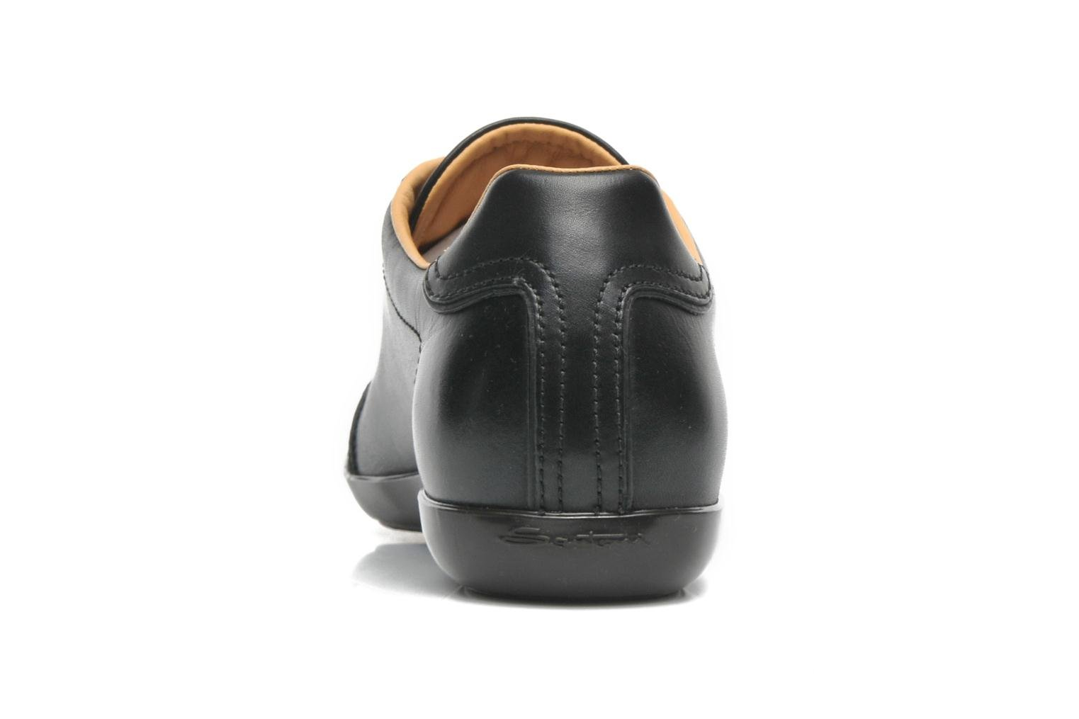Trainers Santoni Eagle 13831 Black view from the right