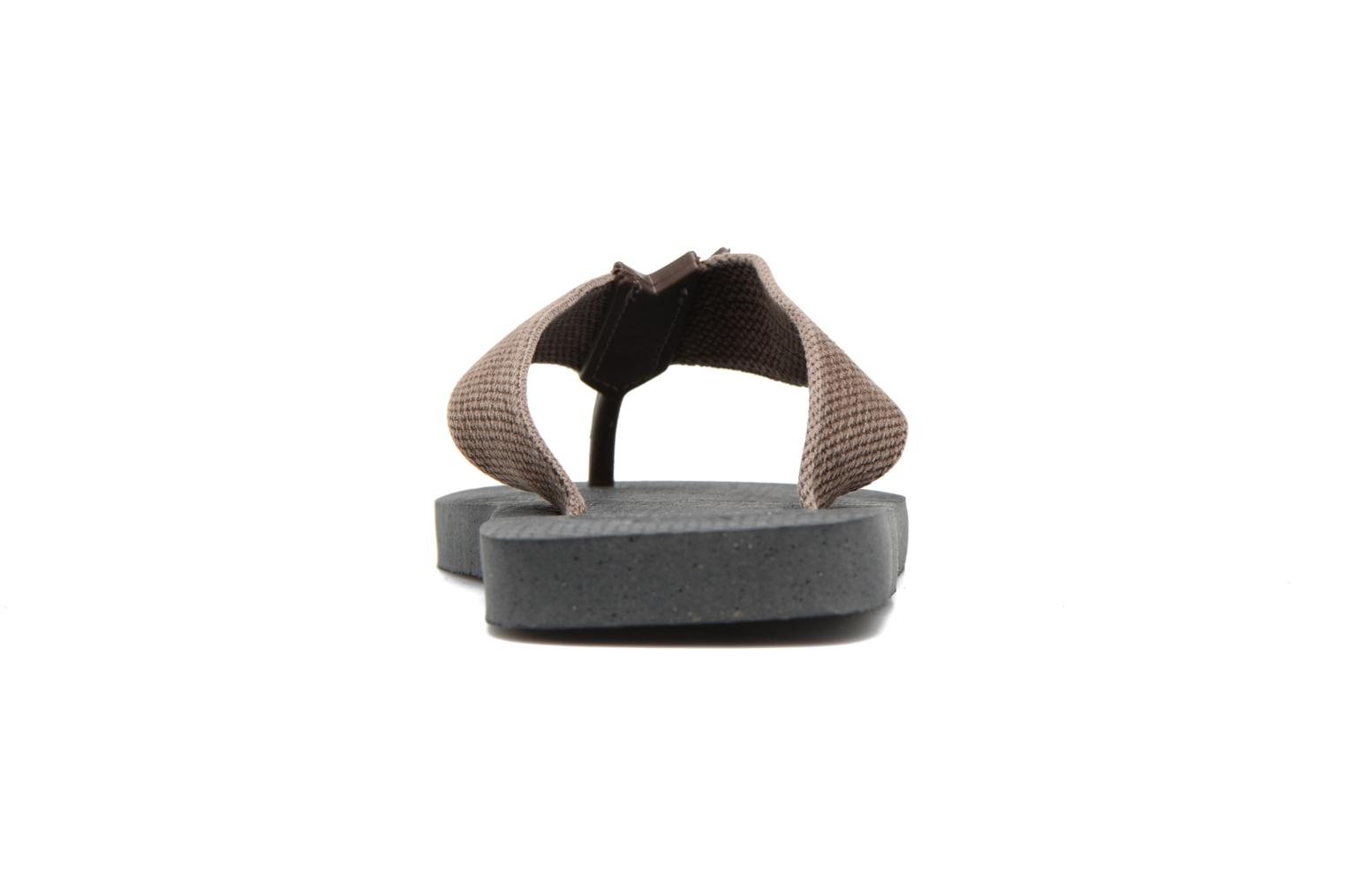 Flip flops Havaianas Urban Basic Grey view from the right