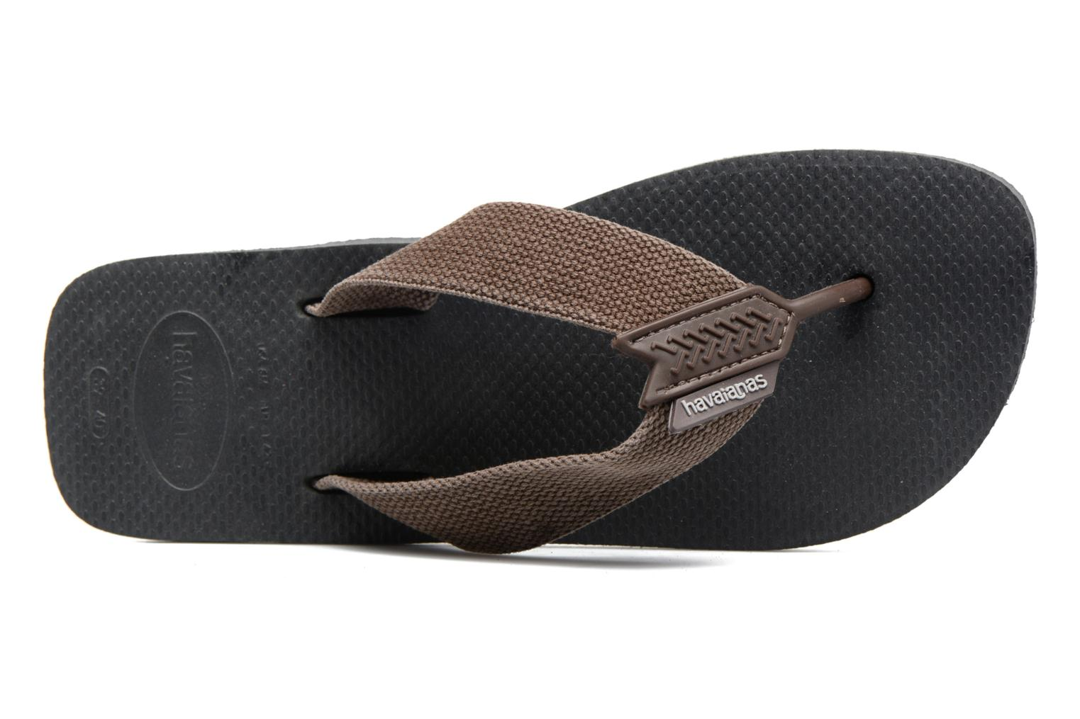 Flip flops Havaianas Urban Basic Grey view from the left
