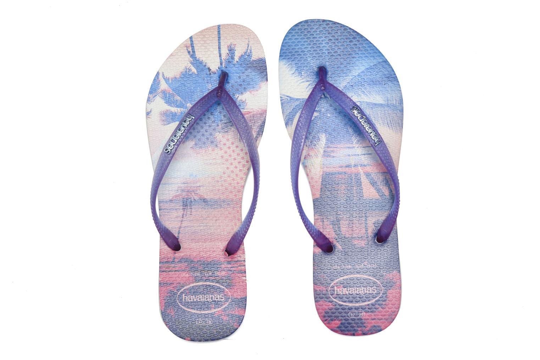 Flip flops Havaianas Slim Paisage Multicolor 3/4 view
