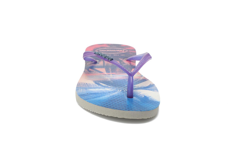Flip flops Havaianas Slim Paisage Multicolor model view