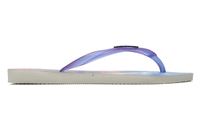 Flip flops Havaianas Slim Paisage Multicolor back view
