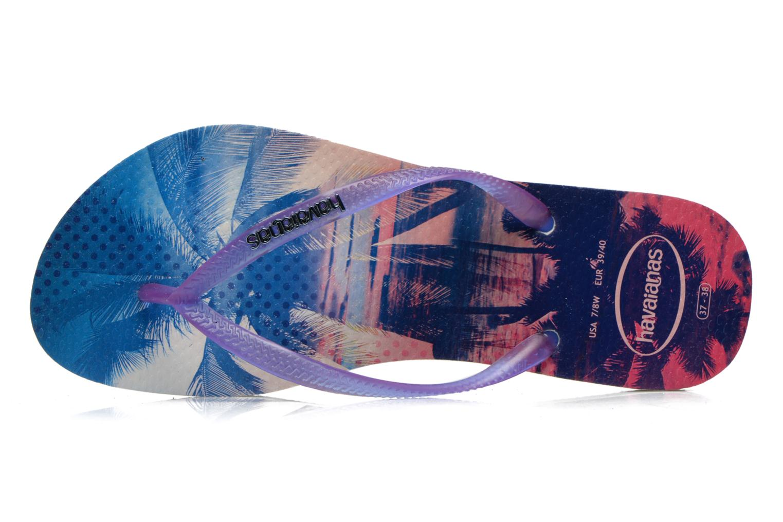 Flip flops Havaianas Slim Paisage Multicolor view from the left