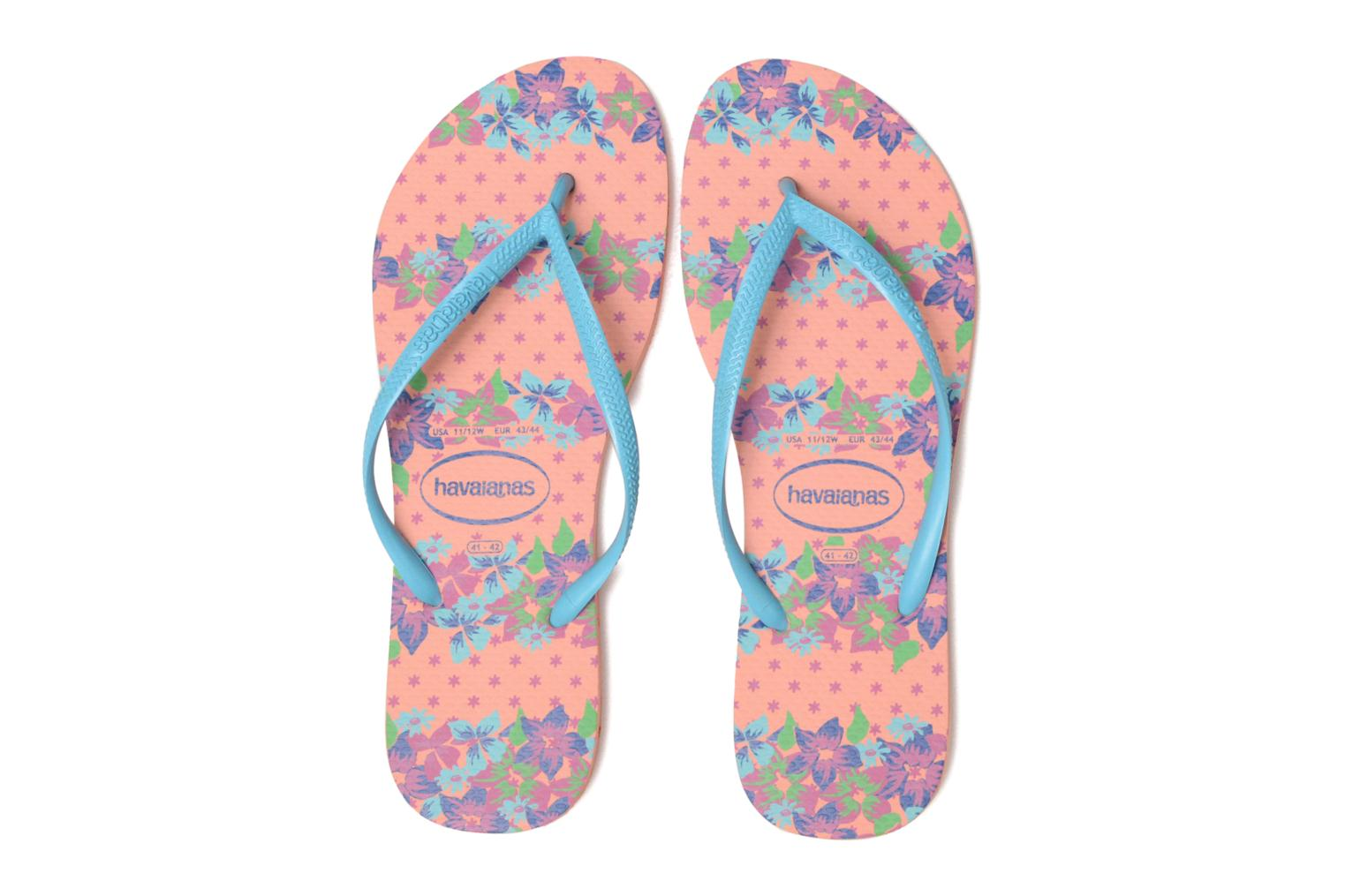 Slippers Havaianas Slim Provence Roze 3/4'