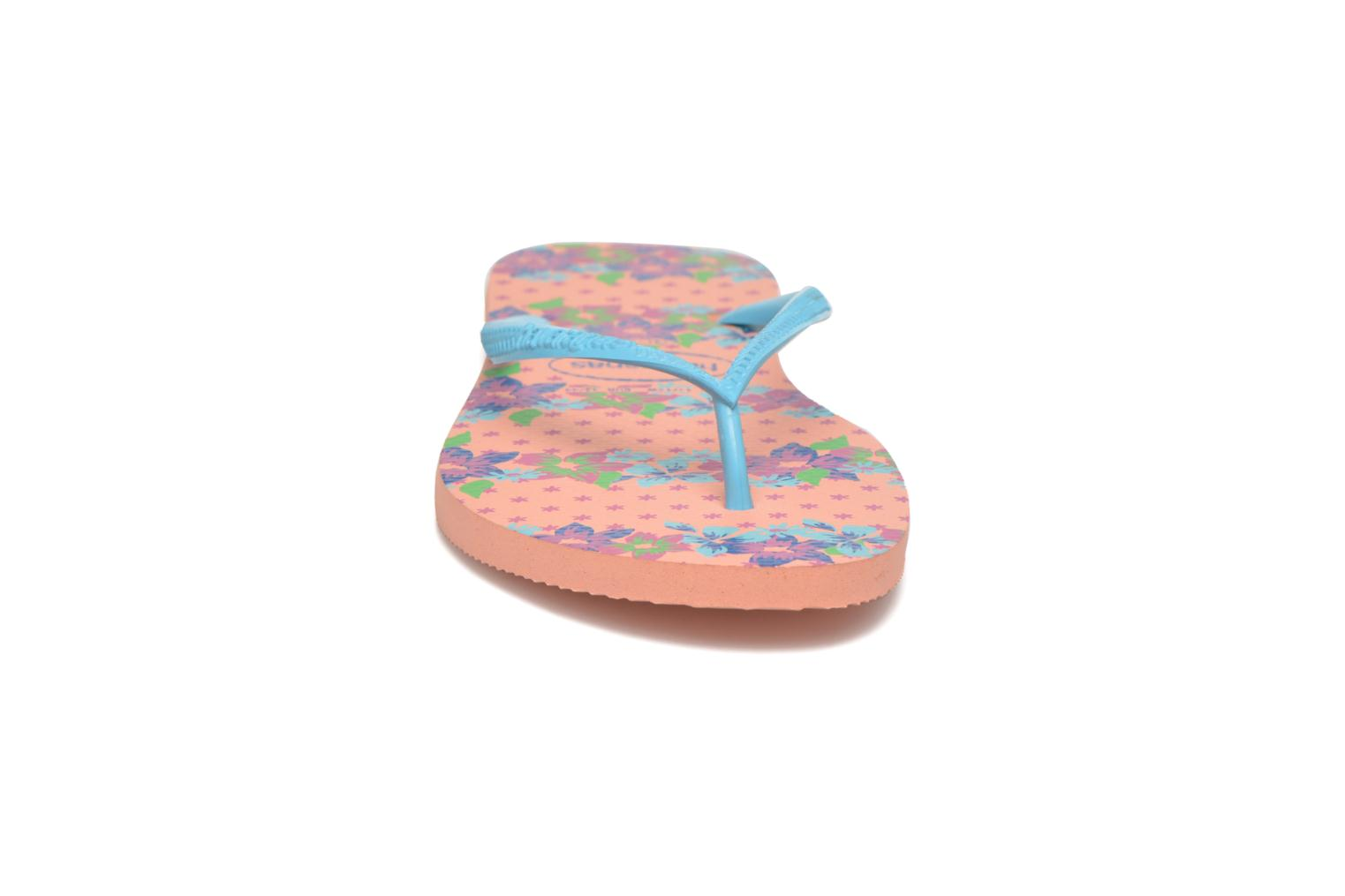 Slippers Havaianas Slim Provence Roze model