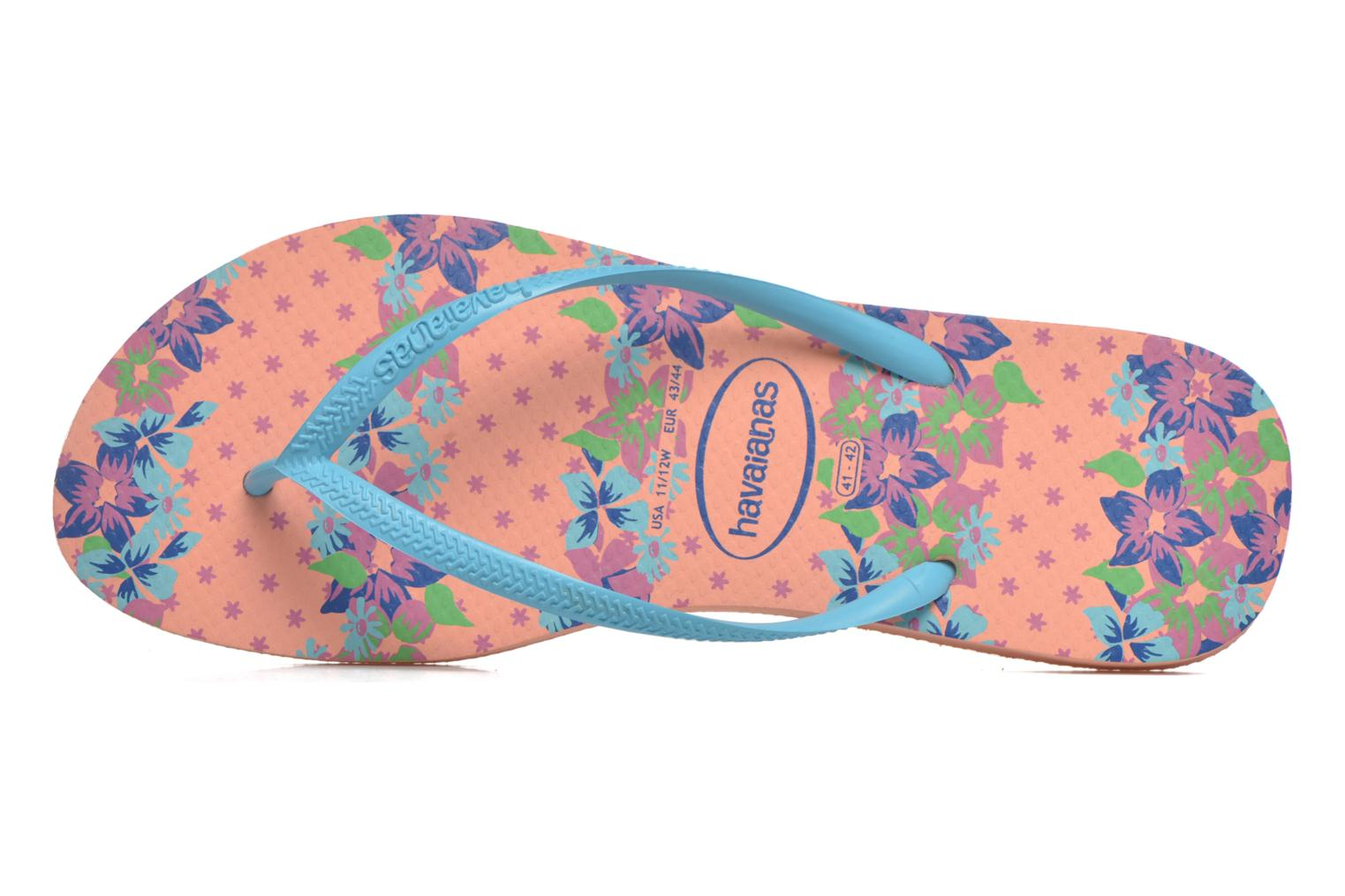 Slippers Havaianas Slim Provence Roze links