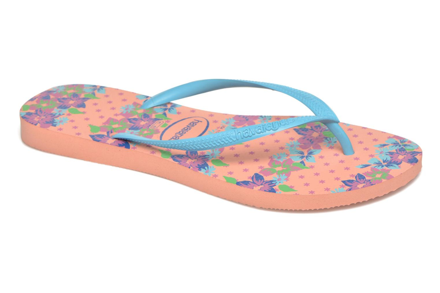 Slippers Havaianas Slim Provence Roze detail