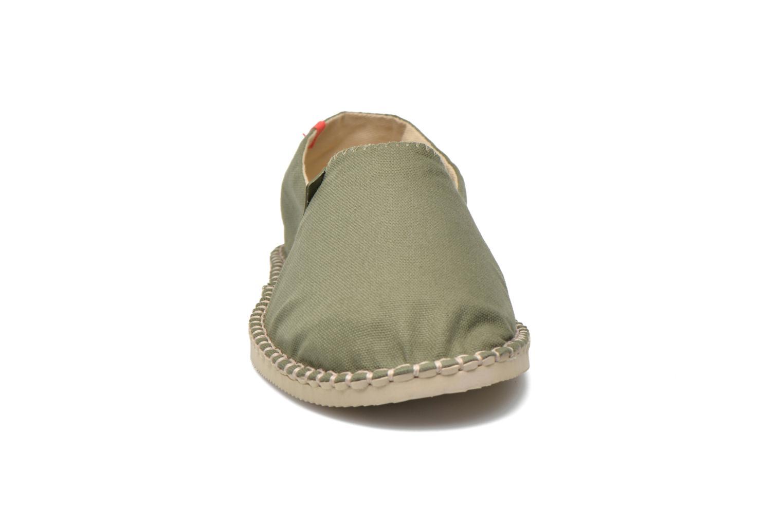 Espadrilles Havaianas Origine 2 M Vert vue portées chaussures