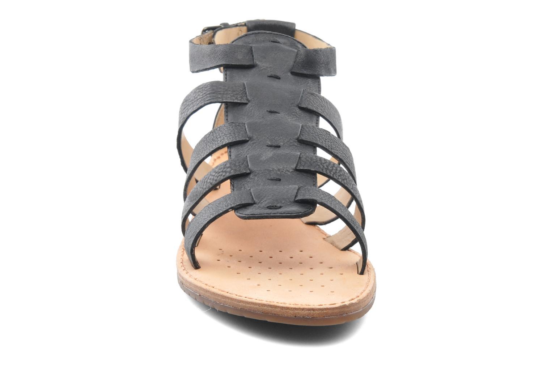 Sandales et nu-pieds Geox D JOLANDA D D5275D Noir vue portées chaussures
