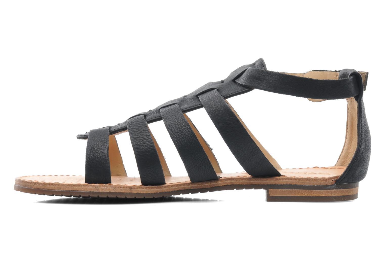 Sandales et nu-pieds Geox D JOLANDA D D5275D Noir vue face