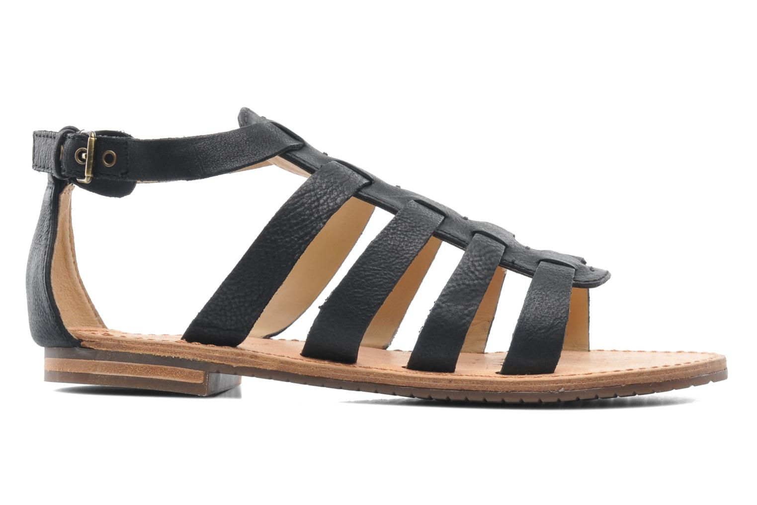 Sandals Geox D JOLANDA D D5275D Black back view