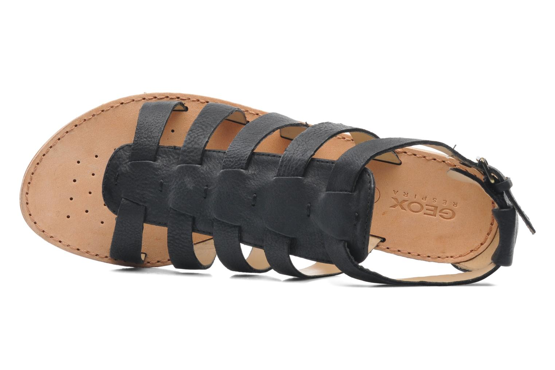Sandales et nu-pieds Geox D JOLANDA D D5275D Noir vue gauche
