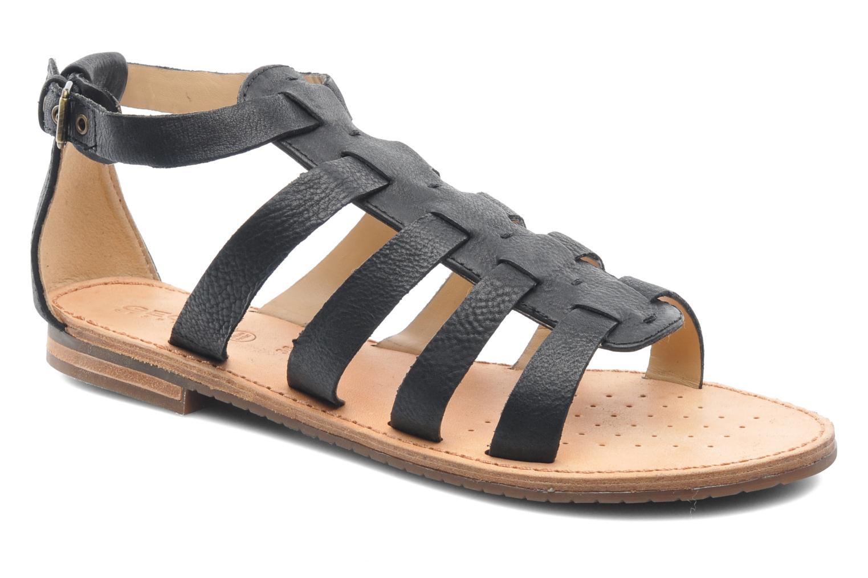 Geox D JOLANDA D D5275D (Noir) - Sandales et nu-pieds chez Sarenza (220257)