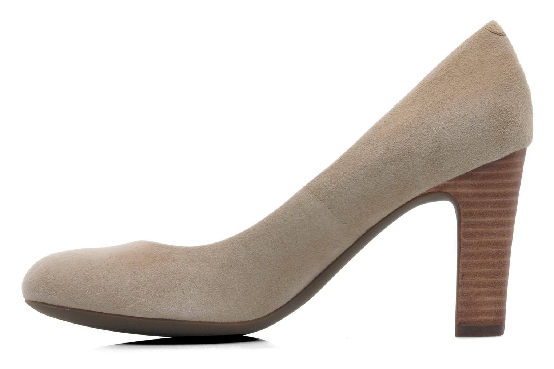 Zapatos de tacón Geox D NEW MARIELE H. A D5298A Beige vista de frente