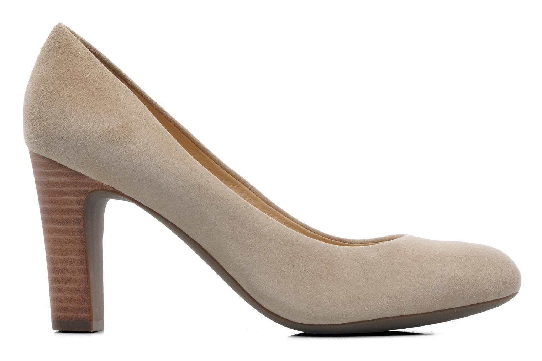 Zapatos de tacón Geox D NEW MARIELE H. A D5298A Beige vistra trasera