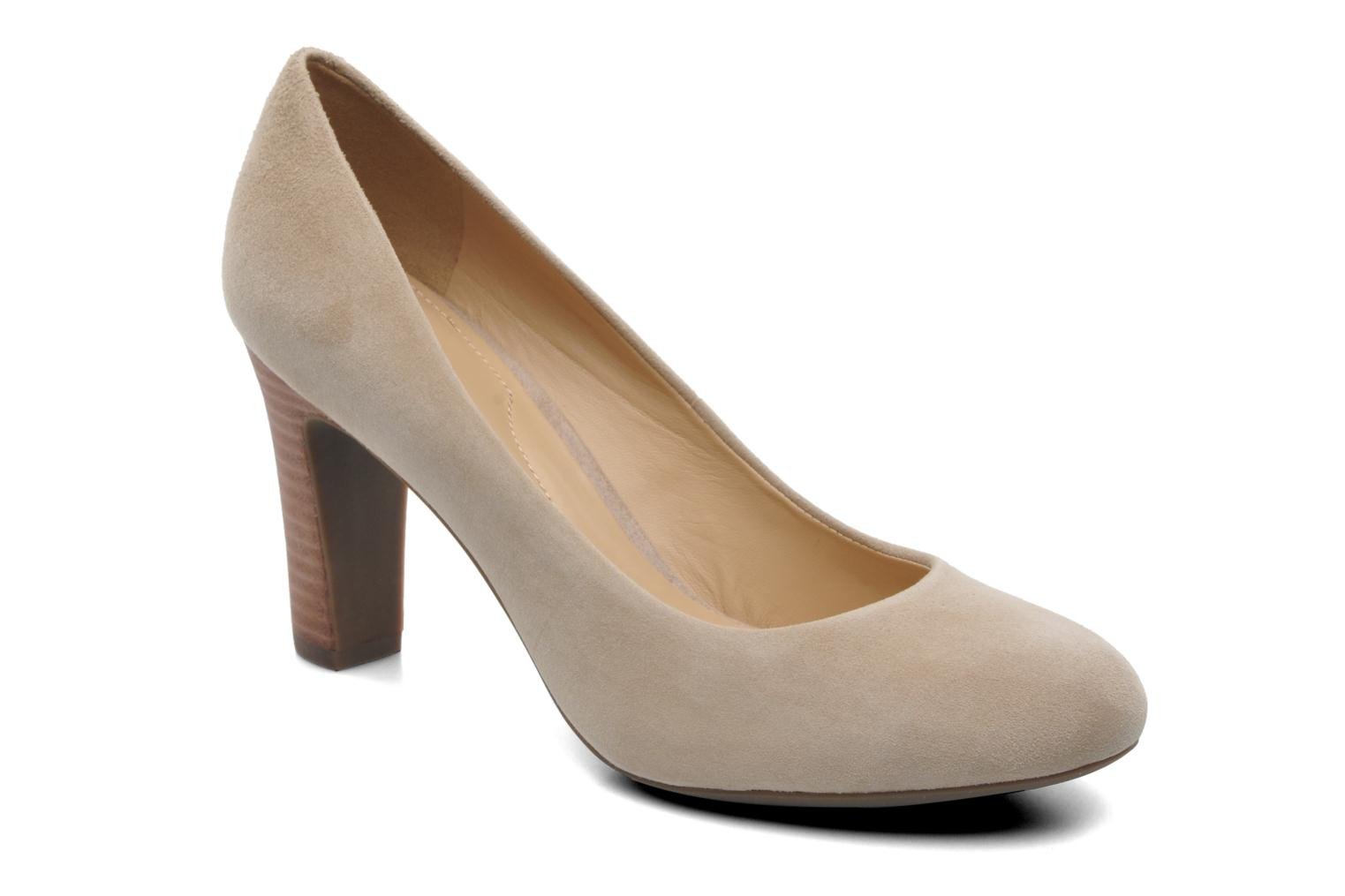 High heels Geox D NEW MARIELE H. A D5298A Beige detailed view/ Pair view