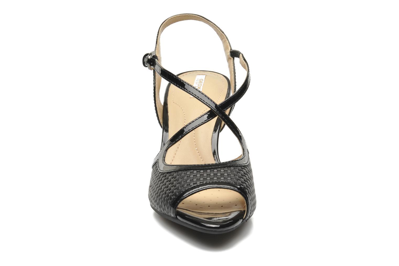 Sandales et nu-pieds Geox D DONYALE A D52B9A Noir vue portées chaussures