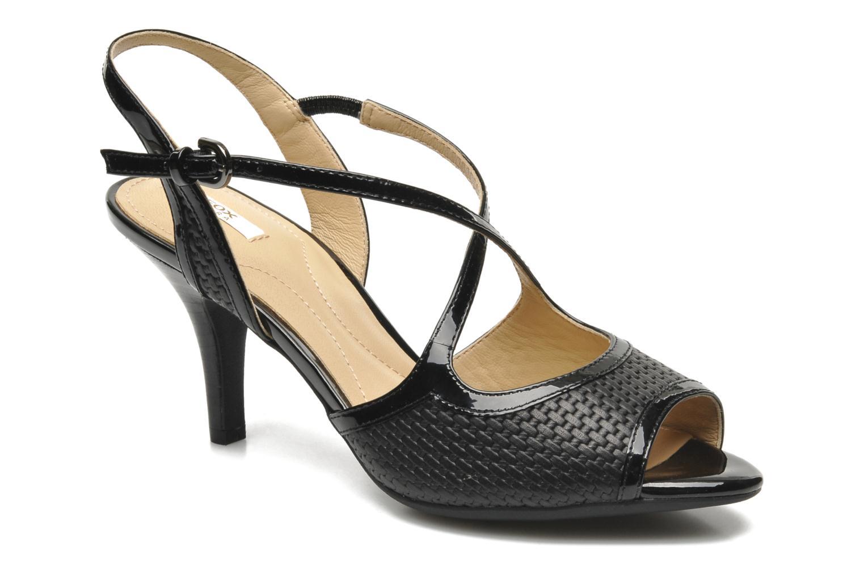 Sandales et nu-pieds Geox D DONYALE A D52B9A Noir vue détail/paire