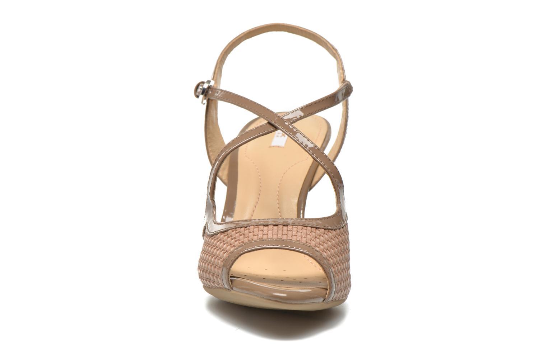 Sandalen Geox D DONYALE A D52B9A braun schuhe getragen