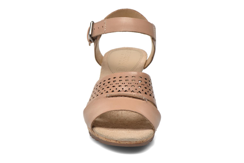 Sandales et nu-pieds Geox D ALIAS A D52C3A Marron vue portées chaussures