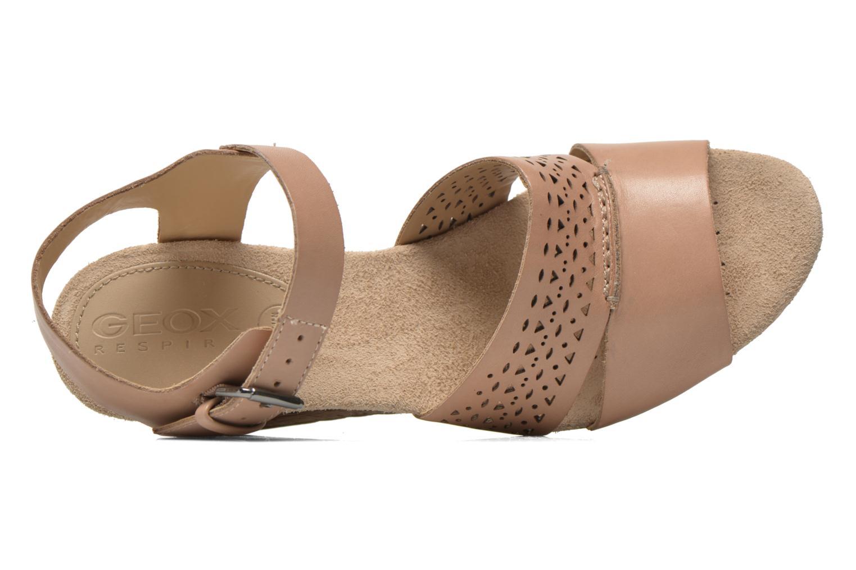 Sandali e scarpe aperte Geox D ALIAS A D52C3A Marrone immagine sinistra