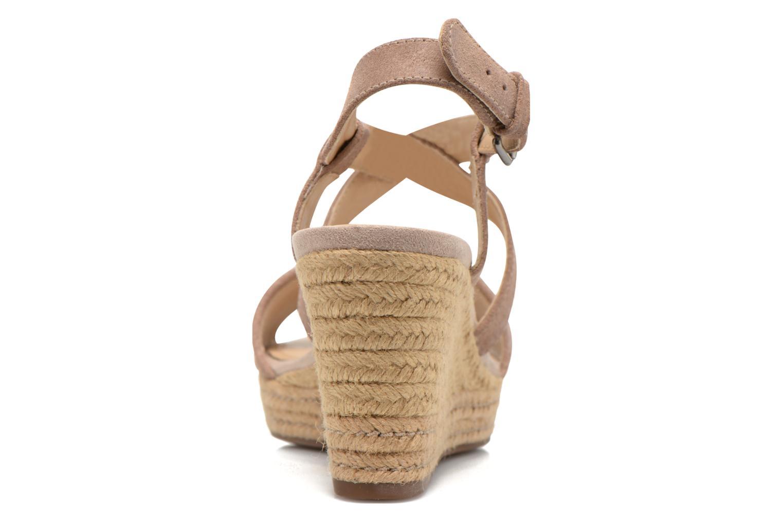 Sandales et nu-pieds Geox D SOLEIL A D52N7A Marron vue droite