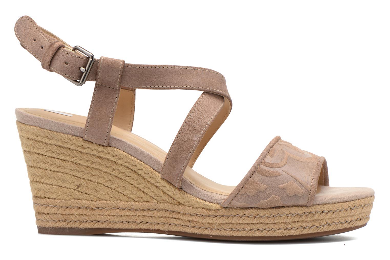 Sandales et nu-pieds Geox D SOLEIL A D52N7A Marron vue derrière