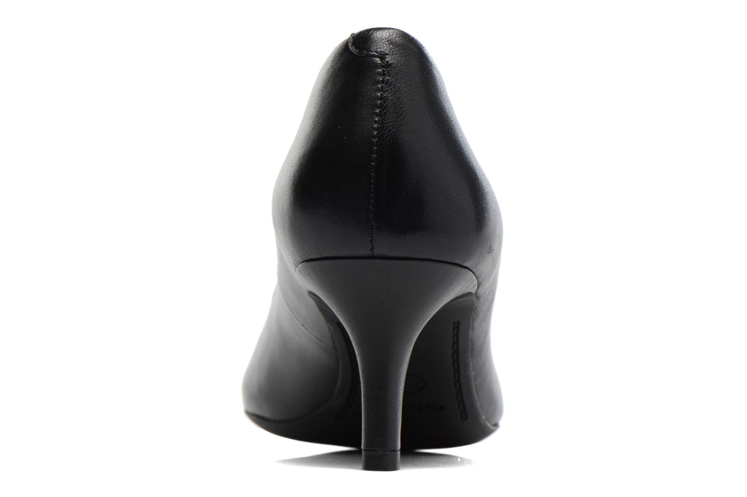 High heels Geox D ELINA C D52P8C Black view from the right