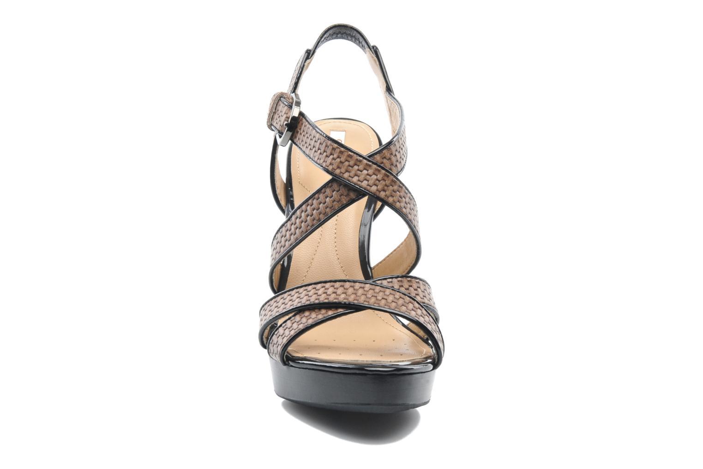 Sandales et nu-pieds Geox D IVANA SAND C D52Q2C Multicolore vue portées chaussures