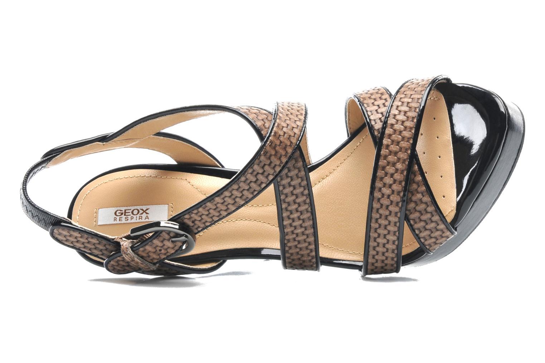 Sandales et nu-pieds Geox D IVANA SAND C D52Q2C Multicolore vue gauche