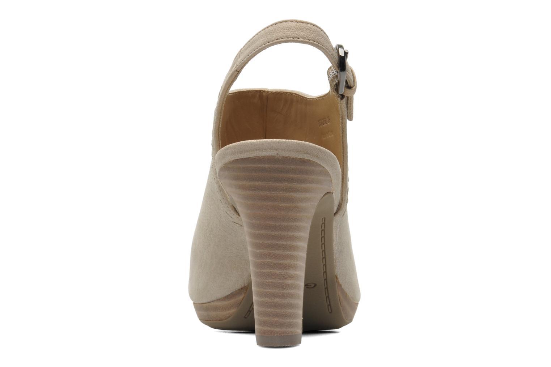 Sandales et nu-pieds Geox D LANA SAND B D52Q5B Beige vue droite