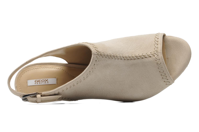 Sandales et nu-pieds Geox D LANA SAND B D52Q5B Beige vue gauche