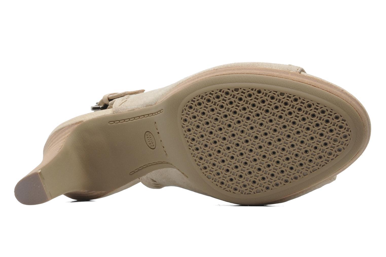 Sandales et nu-pieds Geox D LANA SAND B D52Q5B Beige vue haut