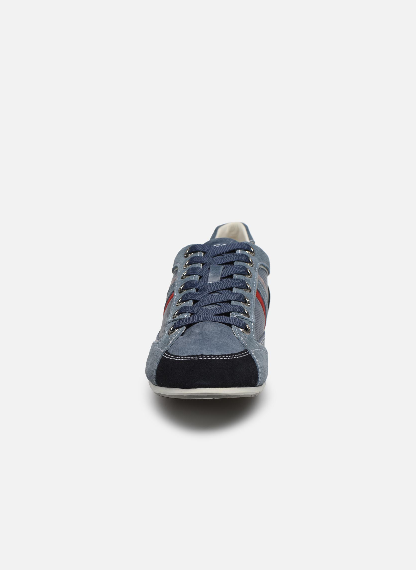 Baskets Geox U ANDREA P U01Z2P Bleu vue portées chaussures