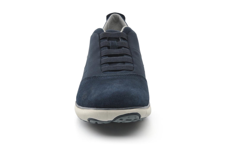 Baskets Geox U NEBULA B U52D7B Bleu vue portées chaussures