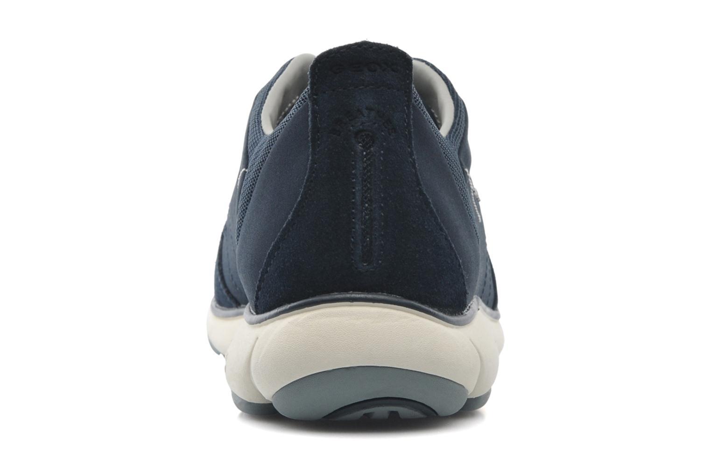 Sneaker Geox U NEBULA B U52D7B blau ansicht von rechts