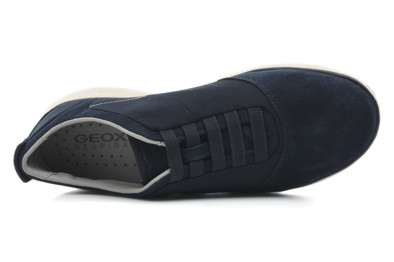 Sneaker Geox U NEBULA B U52D7B blau ansicht von links