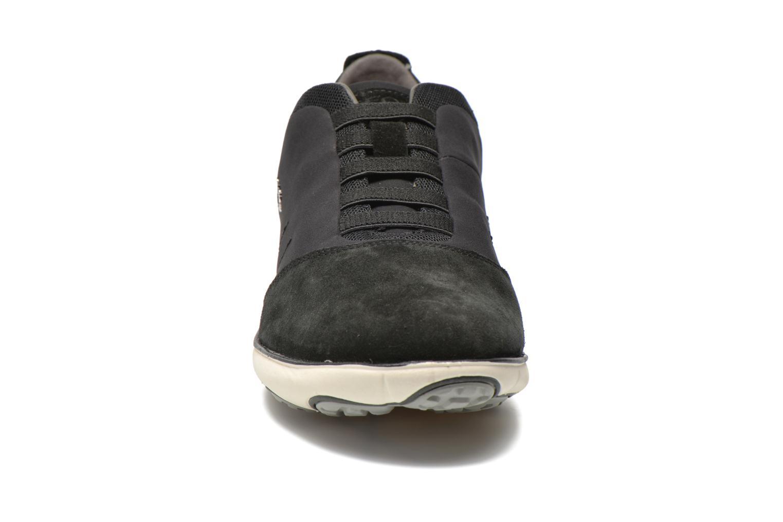 Sneaker Geox U NEBULA B U52D7B schwarz schuhe getragen