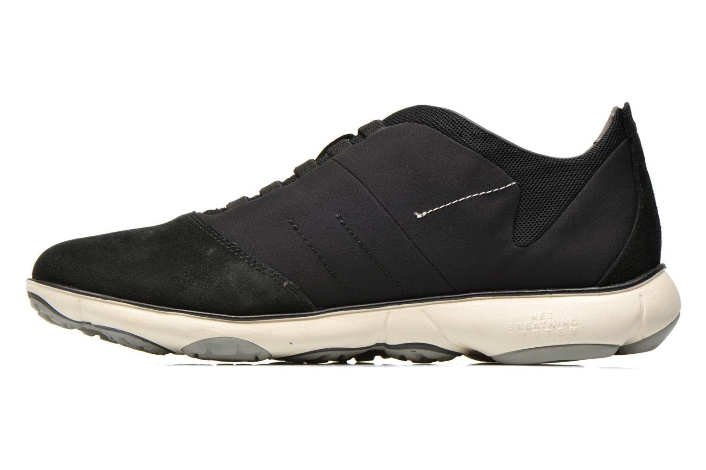 Sneaker Geox U NEBULA B U52D7B schwarz ansicht von vorne