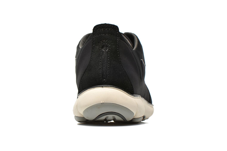 Sneaker Geox U NEBULA B U52D7B schwarz ansicht von rechts