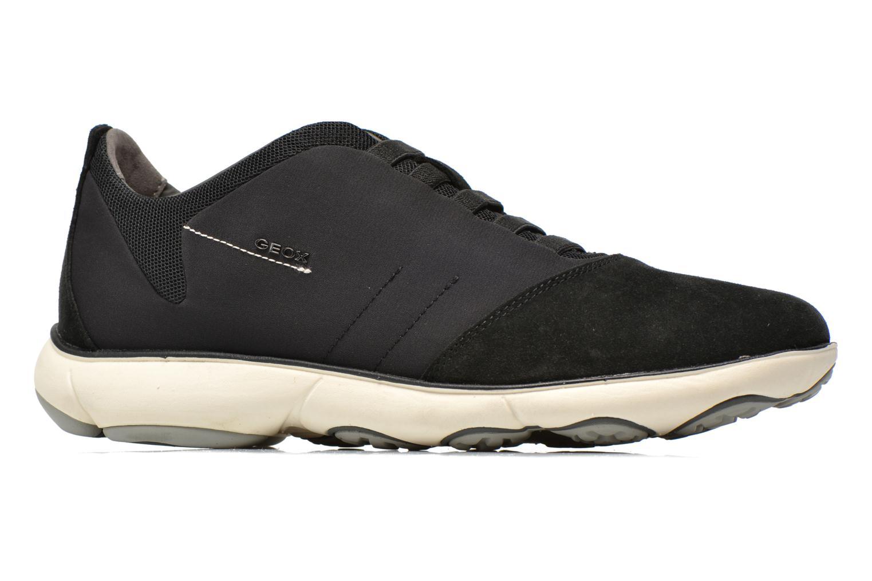 Sneaker Geox U NEBULA B U52D7B schwarz ansicht von hinten