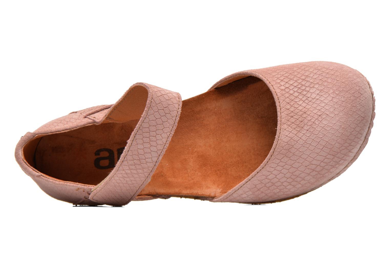 Sandalen Art Creta 448 rosa ansicht von links
