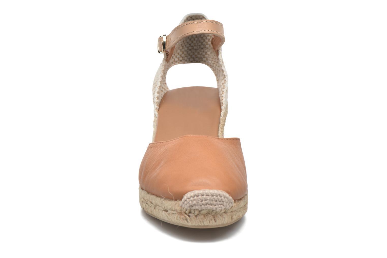 Sandales et nu-pieds Maypol Lola Marron vue portées chaussures